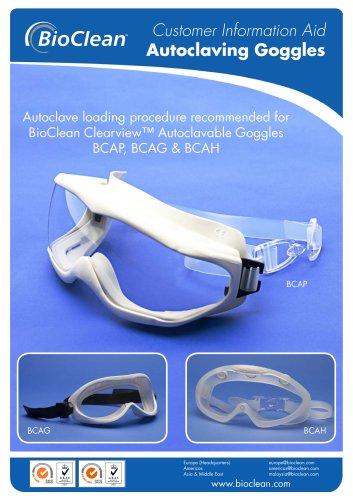 Autoclaving Goggles Procedure