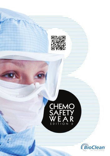BioClean Chemo Safety Wear Products 2015
