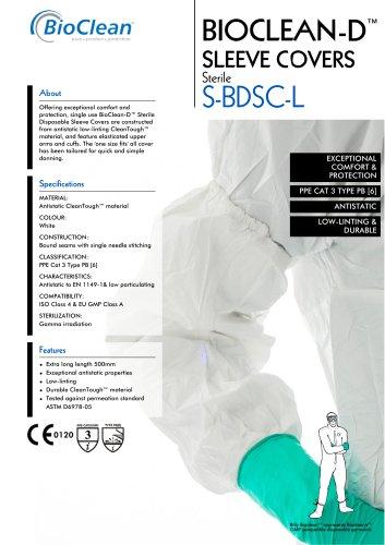 Bioclean-D Sleeve Covers