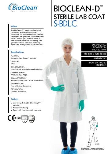 Bioclean-D Sterile Lab Coat