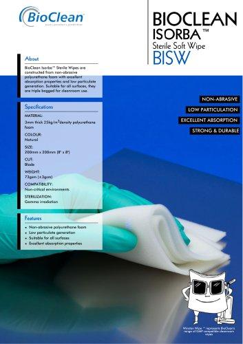 Bioclean Isorba Sterile Sponge Wipe