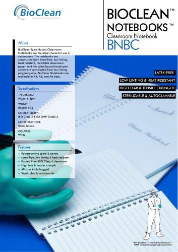 Bioclean Notebooks