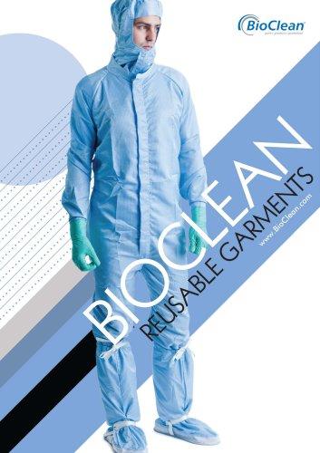 BioClean Reusable Garment Catalogue 2015
