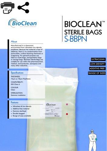 Bioclean Sterile Bags