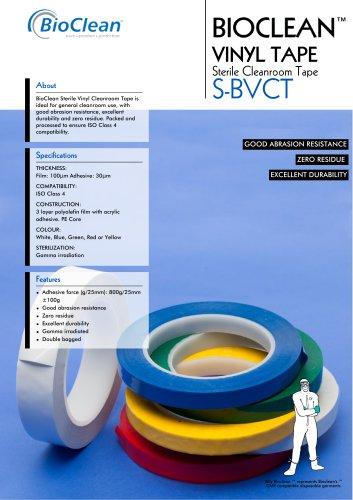 BioClean Sterile Vinyl Cleanroom Tape