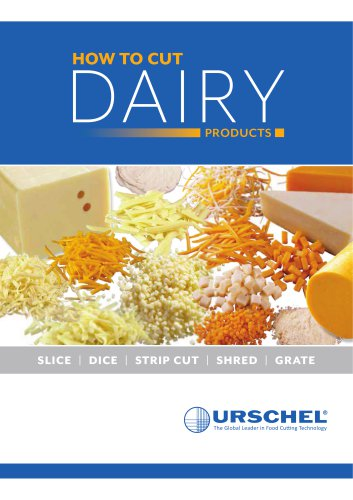 HOW TO CUT DAIRY PRODUCTS