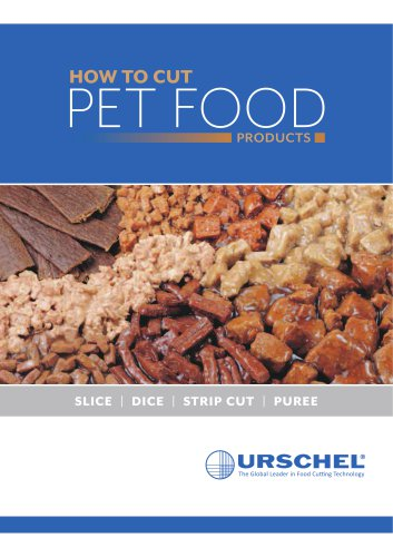 HOW TO CUT PET FOOD PRODUCTS