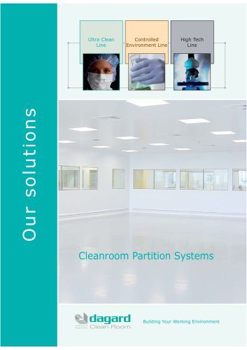Our clean rooms solutions