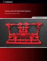 Choke and Kill Manifold Systems