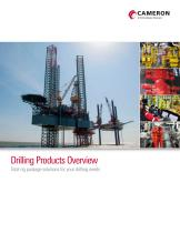 Drilling Product Overview