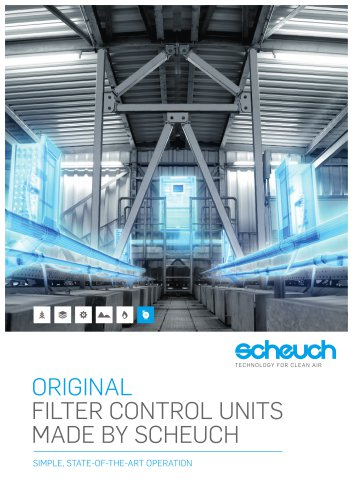 Filter Control Units made by Scheuch