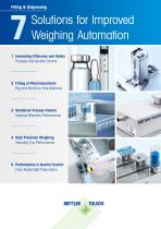 7 Solutions for Improved Weighing Automation - 1