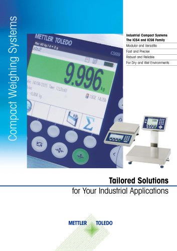 Compact Weighing Systems