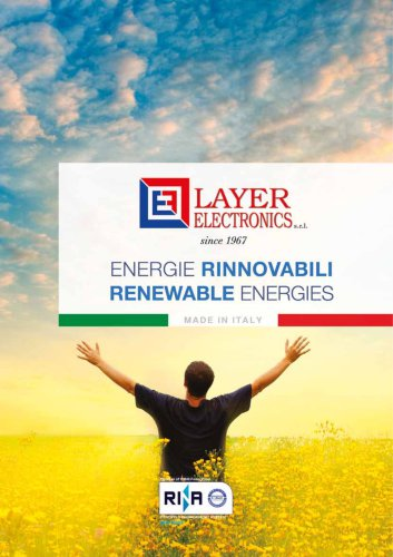Catalogue for Renewable Energies