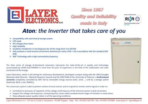 Storage bidirectional converters Aton series