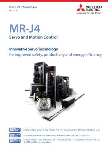 AC-Servo-amplifier - MELSERVO-J4-series