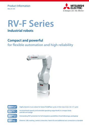 Articulated robot - MELFA - RV series
