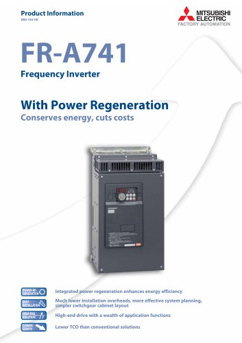 Frequency inverter - FR-A741