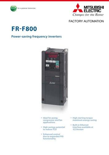 Frequency inverter - FR-F800