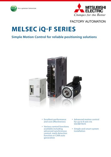 Programmable Controllers - MELSEC iQ-F