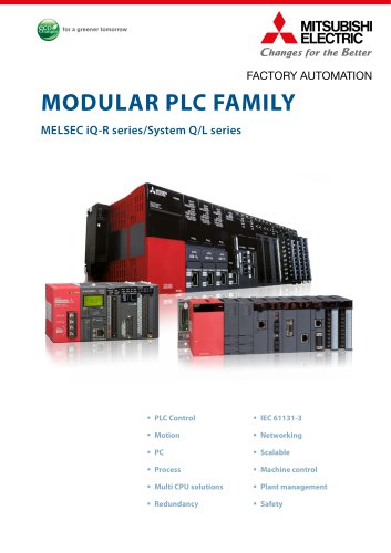 Programmable Controllers - MELSEC iQ-R