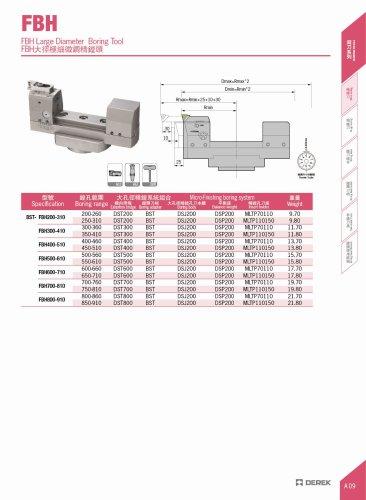 Micro Boring Tool | Precision 0.002 mm | Range 200 - 910 mm
