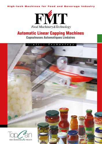 Automatic Linear Capping Machines