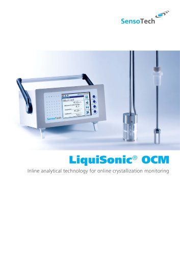 LiquiSonic® OCM - Online Crystallization Monitoring