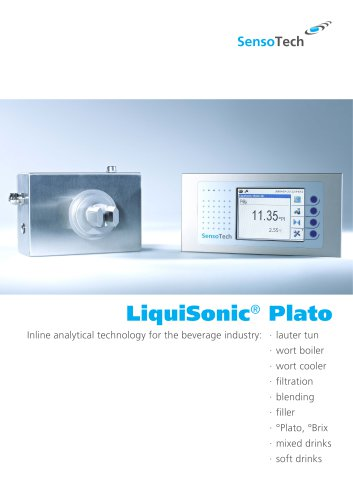 LiquiSonic® Plato - Online Beer Analyzer