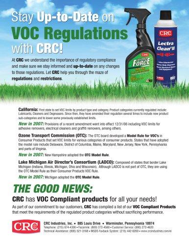 2007 VOC Information Sheet