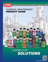 CHEMICAL MAINTENANCE PRODUCT GUIDE