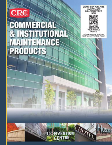 Commercial & istitutional maintenance products
