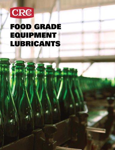 Food grade equipment lubricants