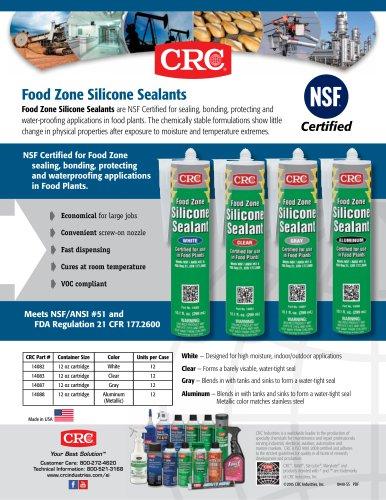 Food Zone Silicone Sealants