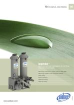 MINIPURE ® STATION FOR THE TREATMENT OF CUTTING AND PROCESS FLUIDS