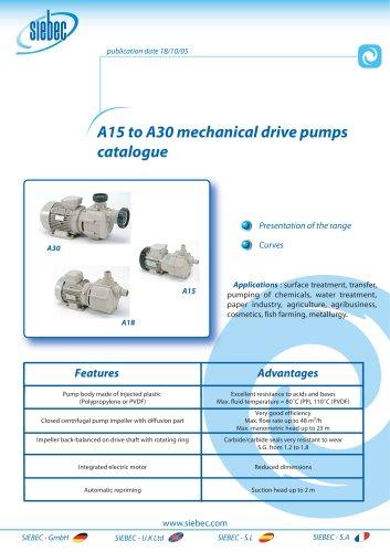 Pumps A15-A30
