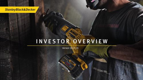 Investor Materials