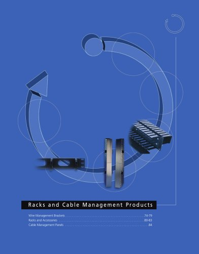 Racks & Cable Management Products