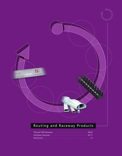 Routing and Raceway Products