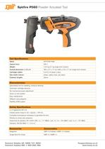 Spitfire P560 Powder Actuated Tool