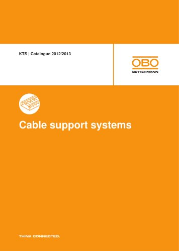 KTS. Cable support systems