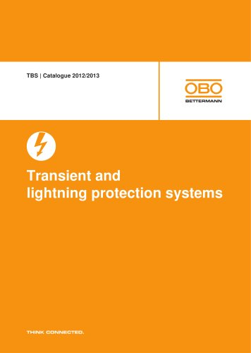 TBS Transient and lightning protection systems