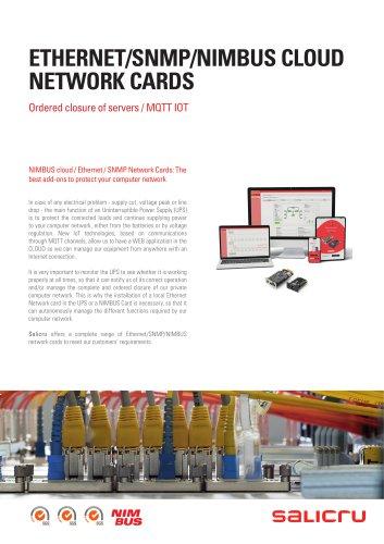 ETHERNET/SNMP/NIMBUS CLOUD NETWORK CARDS