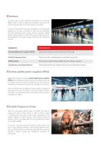Infrastructures and energy - 2