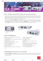 Product datasheet: CS IS - CS WAVE Series - 1