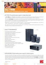 Product Datasheet: SLC TWIN Series - 1