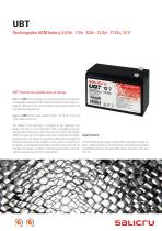 Rechargeable AGM battery - 1