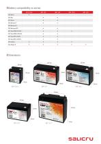 Rechargeable AGM battery - 3