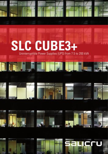 SLC CUBE3+ Catalogue