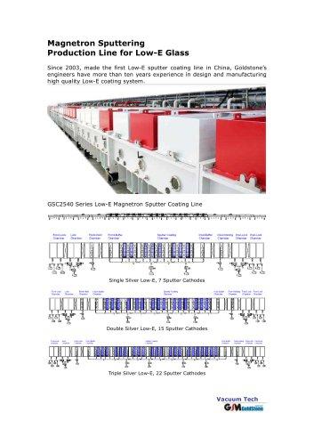 Low E Glass Coating Machine